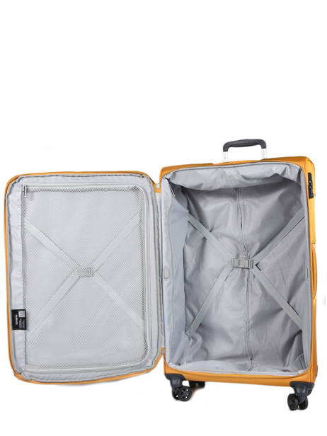 Valise Souple Extensible Popsoda Samsonite Jaune popsoda CT4005 vue secondaire 5