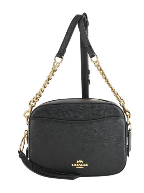 Cross Body Tas Camera Bag Leder Coach Zwart camera bag 29411