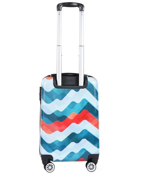 Handbagage Waves Madisson Blauw merveilles 96820T ander zicht 3