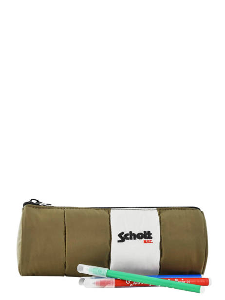 Trousse 1 Compartiment Schott Jaune downbag 11715 vue secondaire 1