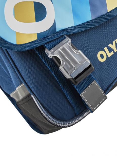 Cartable Olympique de marseille Bleu droit au but 192O203S vue secondaire 1