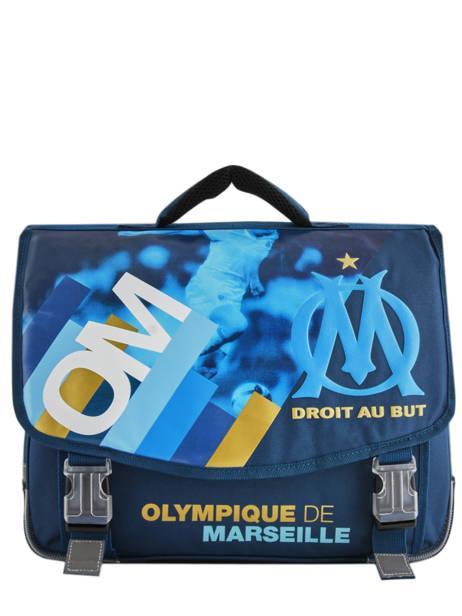 Cartable Olympique de marseille Bleu droit au but 192O203S