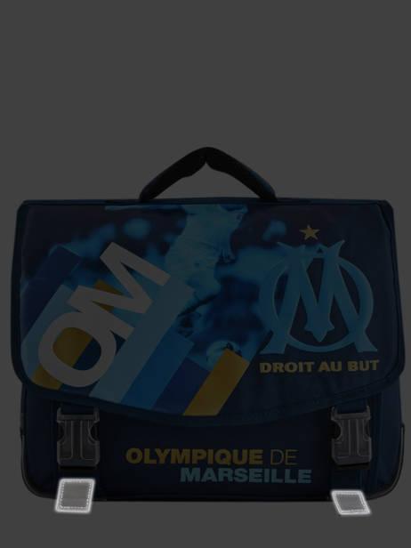 Cartable Olympique de marseille Bleu droit au but 192O203S vue secondaire 6