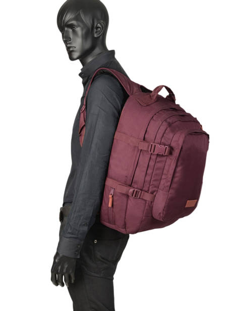 Sac à Dos Volker Eastpak Rouge pbg core series PBGK207 vue secondaire 2