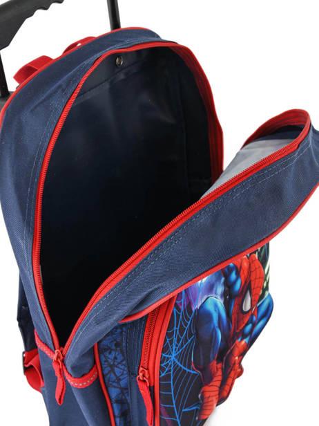 Rugzak Op Wieltjes Mask Spiderman Blauw mask SPIEI08 ander zicht 3
