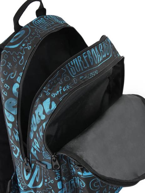 Rugzak 2 Compartimenten Met Bijhorende Pennenzak Rip curl Blauw frame deal BBPNY4 ander zicht 5