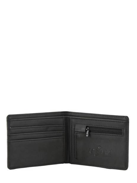 Portefeuille Quiksilver Noir wallets QYAA3848 vue secondaire 2
