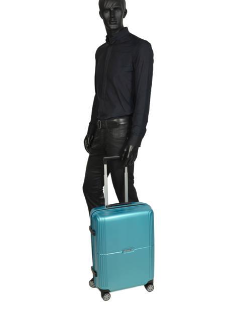 Handbagage Samsonite Blauw orfeo CC4001 ander zicht 4