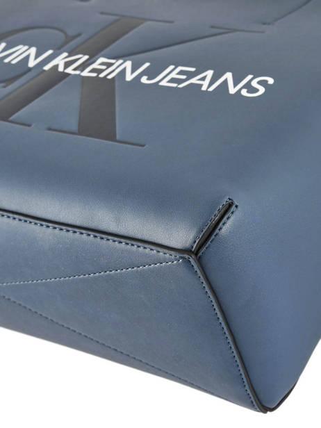 Sac Cabas Sculpted Monogramme Calvin klein jeans Bleu sculpted monogramme K605521 vue secondaire 1