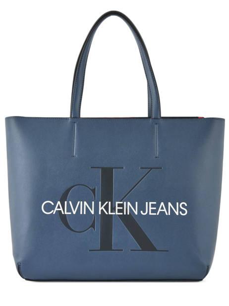 Sac Cabas Sculpted Monogramme Calvin klein jeans Bleu sculpted monogramme K605521