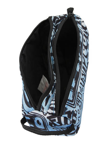 Pennenzak 2 Compartimenten Rip curl Blauw cover up BUTDC4 ander zicht 3