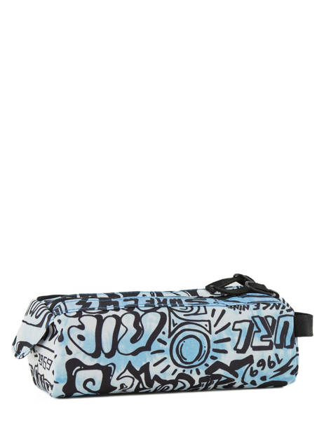 Pennenzak 2 Compartimenten Rip curl Blauw cover up BUTDC4 ander zicht 2