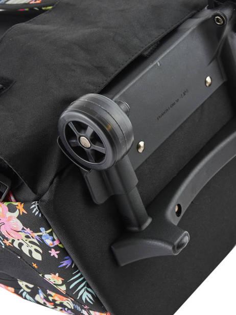 Rugzak Op Wieltjes 2 Compartimenten Rip curl Zwart toucan flora LBPQD4 ander zicht 1