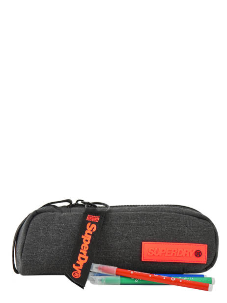 Pennenzak 1 Compartiment Superdry Grijs accessories men M98130MU ander zicht 1