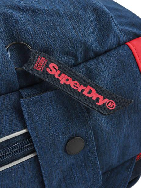 Sac à Dos 1 Compartiment Superdry Bleu backpack men M91801MU vue secondaire 1