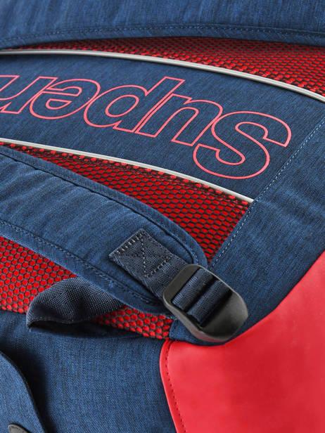 Sac à Dos 1 Compartiment Superdry Bleu backpack men M91801MU vue secondaire 2