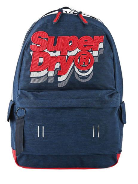 Sac à Dos 1 Compartiment Superdry Bleu backpack men M91801MU