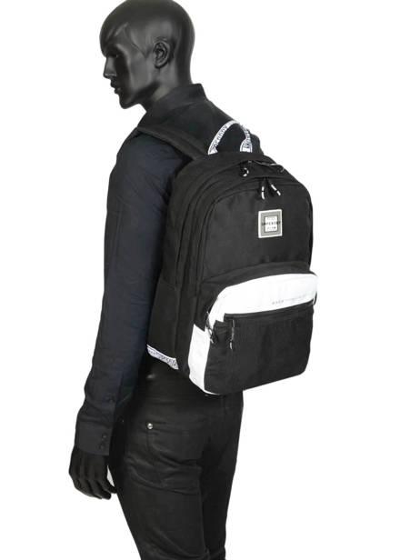 Sac à Dos Hayden 2 Compartiments Superdry Noir backpack woomen G91903MT vue secondaire 2