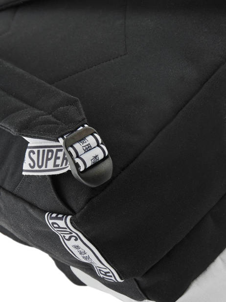 Sac à Dos Hayden 2 Compartiments Superdry Noir backpack woomen G91903MT vue secondaire 1