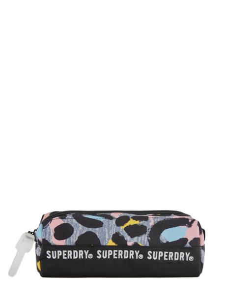Trousse 1 Compartiment Superdry Multicolore accessories woomen G98900JT