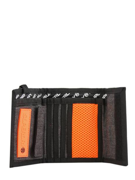 Wallet Academic Superdry Gris accessories men M98100MU vue secondaire 3