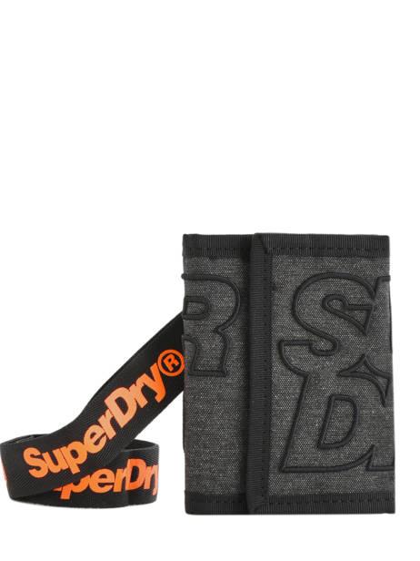Wallet Academic Superdry Gris accessories men M98100MU