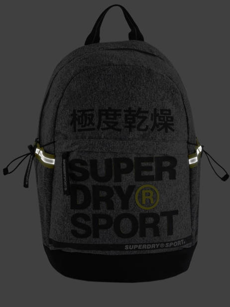 Sac à Dos 1 Compartiment Superdry Gris backpack men MS4100JU vue secondaire 6