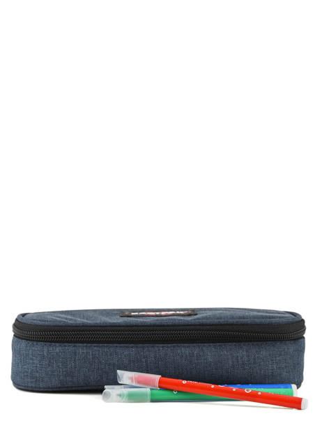 Trousse Oval Eastpak Bleu authentic K717 vue secondaire 1