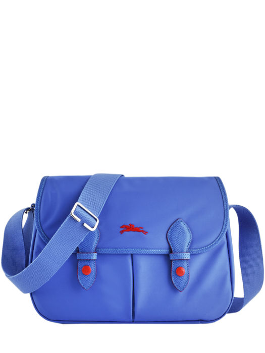 Longchamp Le pliage club Besace Bleu