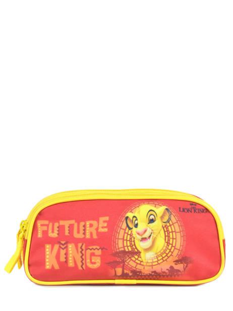 Pennenzak 2 Compartimenten Le roi lion Rood king ROINI00