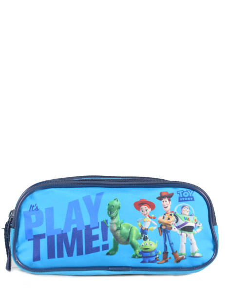 Pennenzak 2 Compartimenten Toy story Blauw playtime TOYNI00