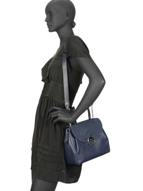 Cross Body Tas Foulonne Pia Lancaster Blauw foulonne pia 547-37 ander zicht 2