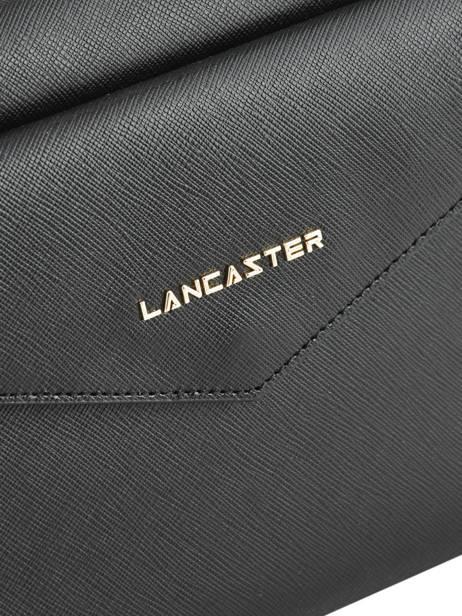 Schoudertas Signature Leder Lancaster Zwart signature 527-28 ander zicht 1