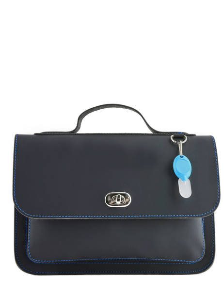 Boekentas 1 Compartiment Own stuff Blauw satchel OS013