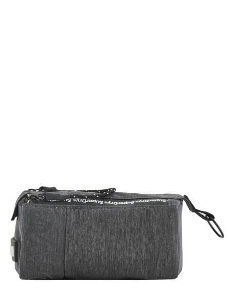 Trousse 1 Compartiment Superdry Gris accessories men M9800001