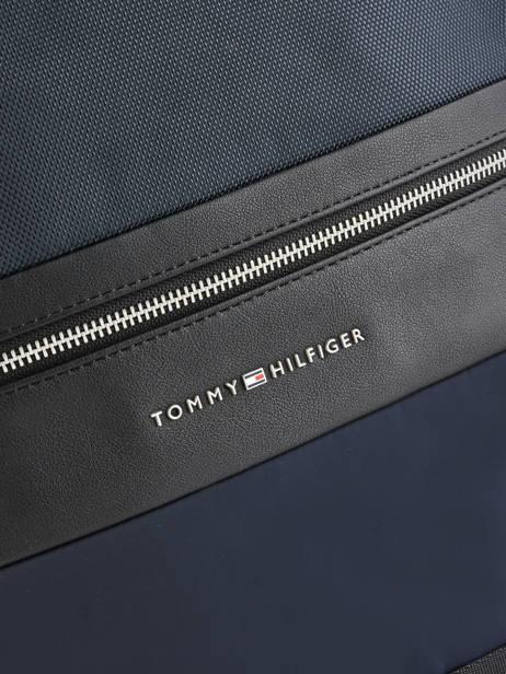 Business Rugzak 1 Compartiment + Pc 14'' Tommy hilfiger Blauw nylon mix AM04764 ander zicht 1
