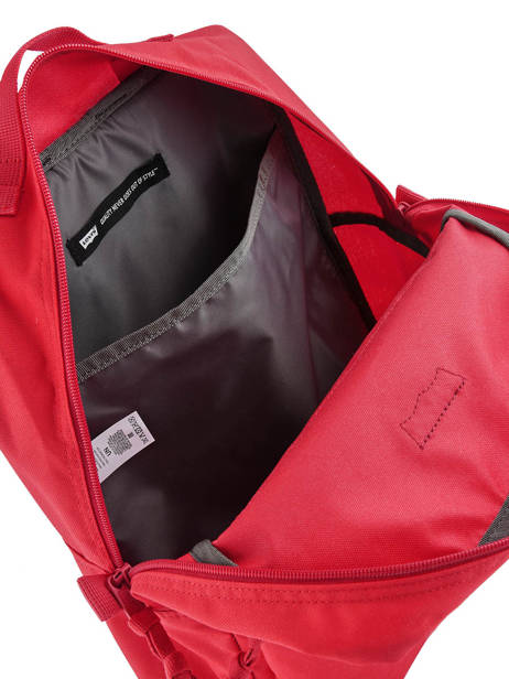 Sac à Dos 1 Compartiment + Pc 15'' Levi's Rouge l pack 230870 vue secondaire 4