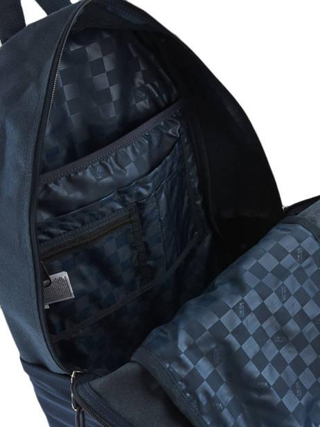 Sac A Dos 1 Compartiment + Pc 15'' Vans Bleu backpack men VN0A3HCB vue secondaire 4