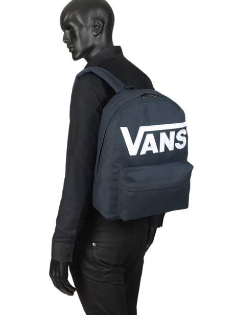 Rugzak 1 Compartiment + Pc 15'' Vans Blauw backpack men VN0A3I6R ander zicht 2