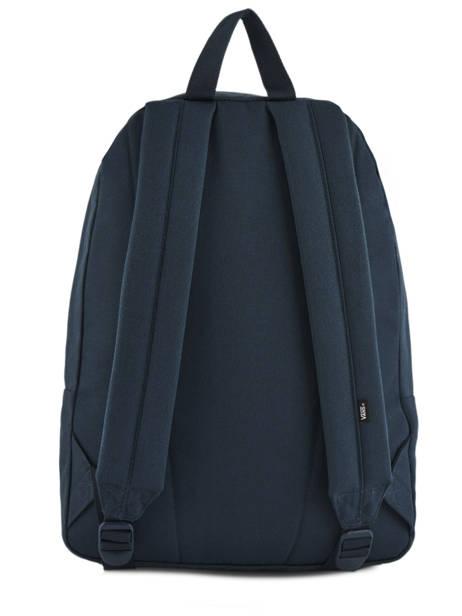 Rugzak 1 Compartiment + Pc 15'' Vans Blauw backpack men VN0A3I6R ander zicht 3