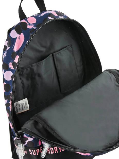 Sac à Dos 1 Compartiment Superdry Multicolore backpack woomen W9100016 vue secondaire 4