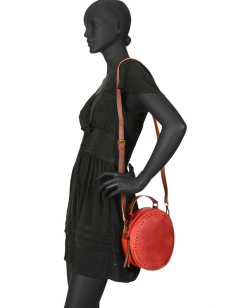 Cross Body Tas Authentic Torrow Rood authentic TAUT06 ander zicht 1