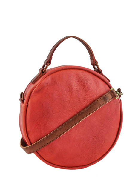 Cross Body Tas Authentic Torrow Rood authentic TAUT06 ander zicht 2