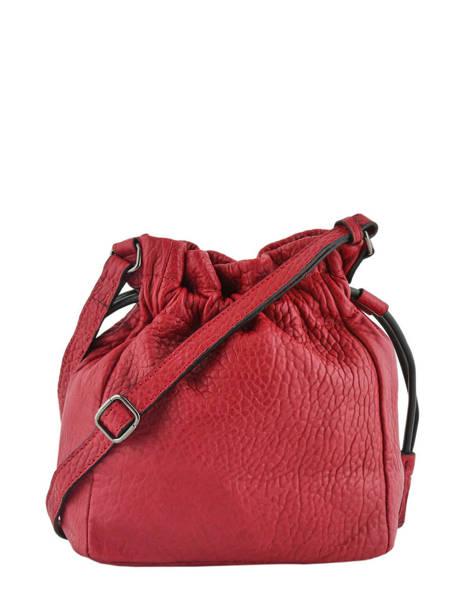 Bucket Bag M Wellington Leder Etrier Zwart wellington EWEL01 ander zicht 4