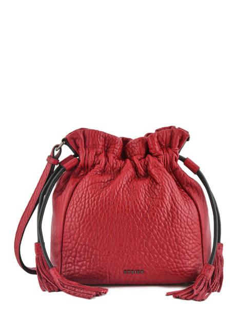 Bucket Bag M Wellington Leder Etrier Zwart wellington EWEL01