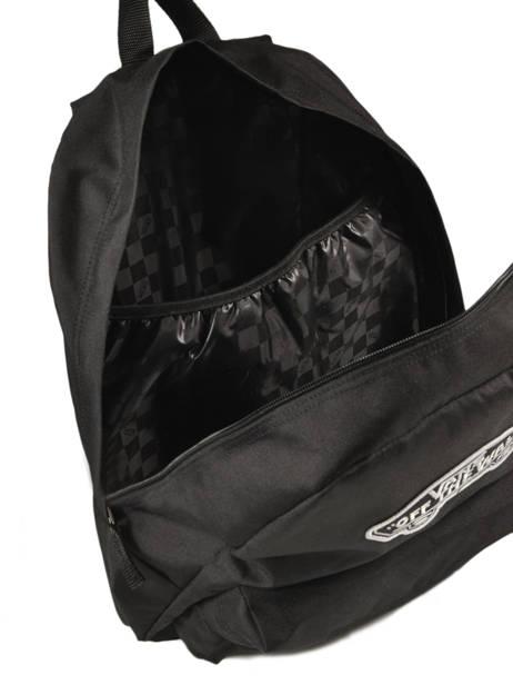 Rugzak 1 Compartiment + Pc 15'' Vans Zwart backpack men VN0A3UI6 ander zicht 4