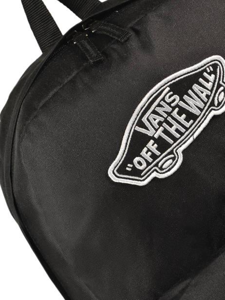 Rugzak 1 Compartiment + Pc 15'' Vans Zwart backpack men VN0A3UI6 ander zicht 1