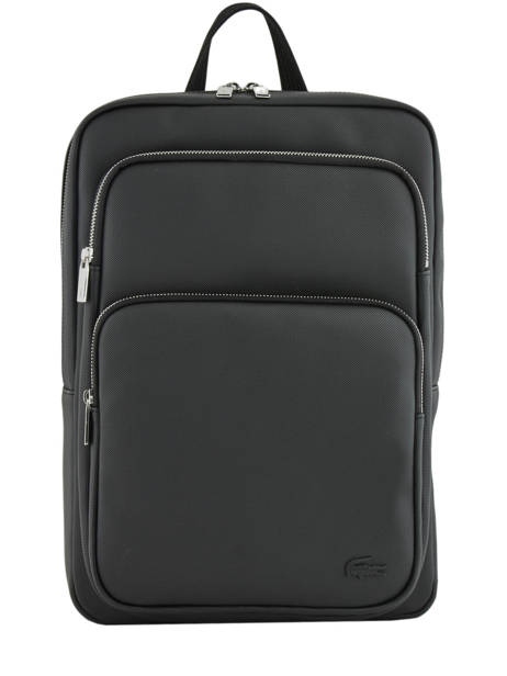 Sac à Dos 1 Compartiment + Pc 15'' Lacoste Noir men's classic NH2852HC