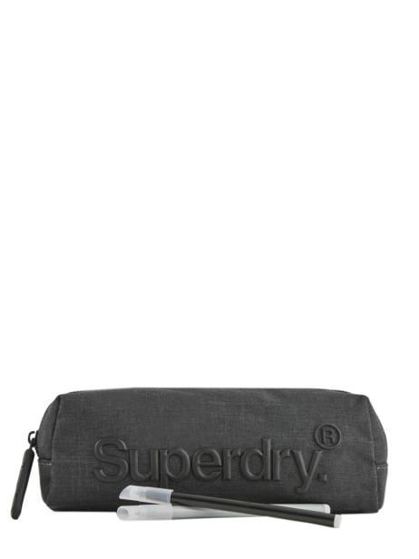 Trousse 1 Compartiment Superdry Gris accessories men M9800013 vue secondaire 1
