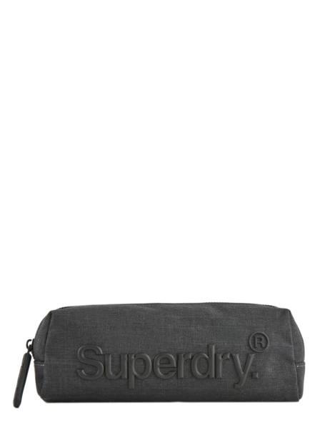 Trousse 1 Compartiment Superdry Gris accessories men M9800013
